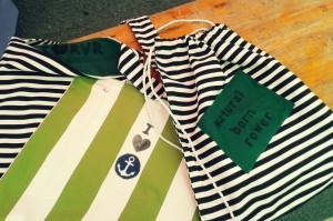 Selbstgemachte Taschen von Steffi Denkert